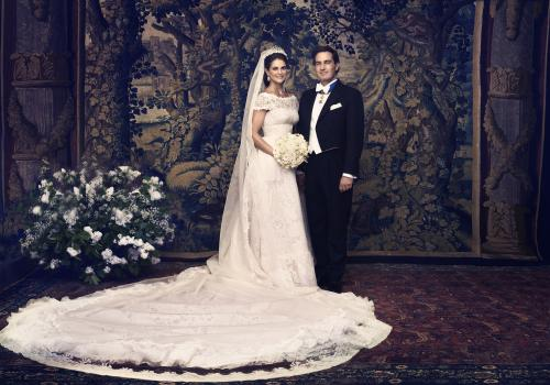 H.R.H. Princess Madeleine and Mr Christopher O'Neill © Ewa-Marie Rundquist, The Royal Court