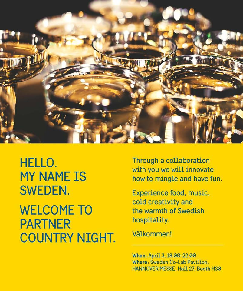 Partner Country Night © Schwedische Botschaft/Business Sweden